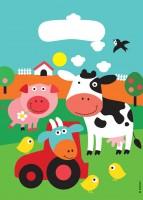 8 Bauernhof Geschenktüten