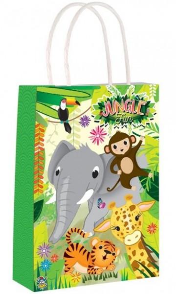 Jungle dieren cadeauzakje 21cm
