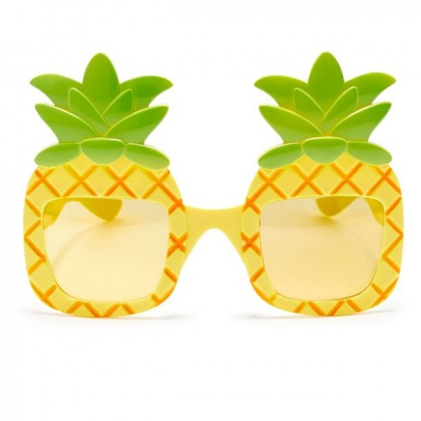 Witzige Ananas Brille