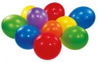 100er Set Luftballons Bunt 23cm