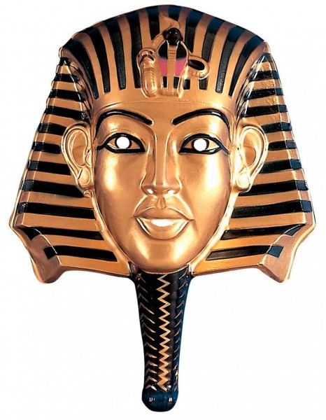 Maska faraona złoto-czarna