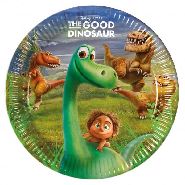 8 Disney Arlo Und Spot Dinoabenteuer Pappteller 23cm