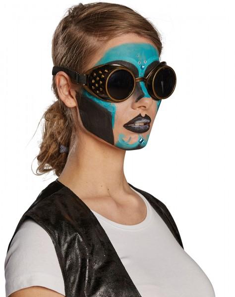 Steampunk Fliegerbrille Unisex