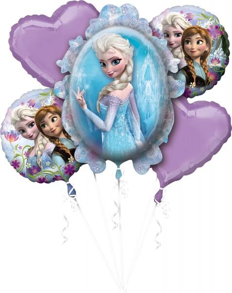 5 Frozen Winterwelt Ballons