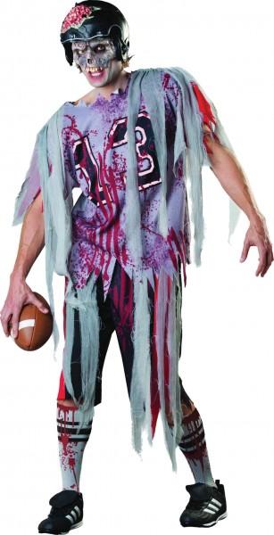 Zombie Footballstar Herrenkostüm
