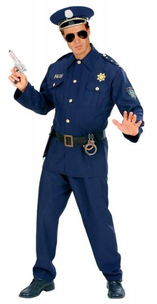 Patrouillierender Polizist Kostüm