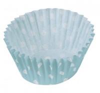 Punkte Spaß Blaue Muffin Formen 25er Pack