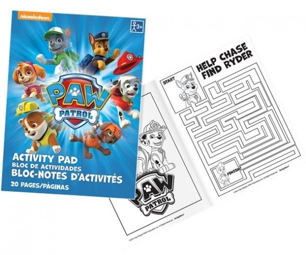Paw Patrol gang activities book