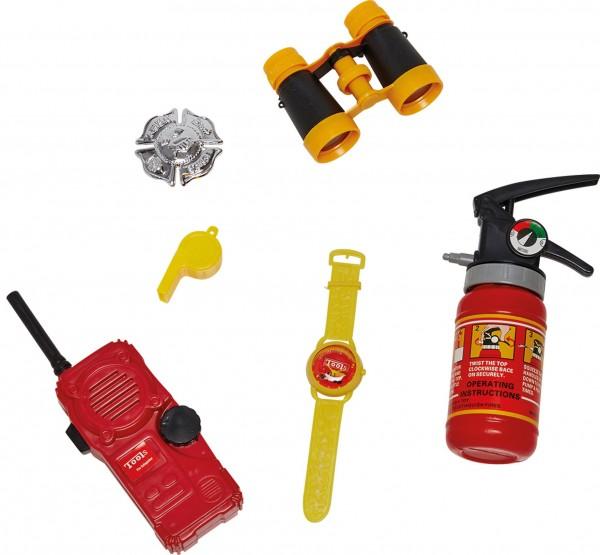 Accessoire set brandweer 6-delig
