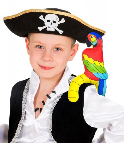 Aufblasbarer Piraten Papagei 1