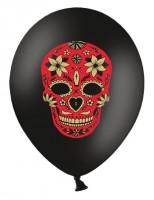 50 Fest der Toten Ballons schwarz 30cm