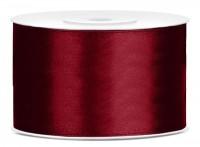 25m Satin Geschenkband burgunder 38mm breit