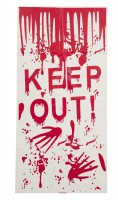 Keep Out Halloween Horror Deko Türposter 58x118cm