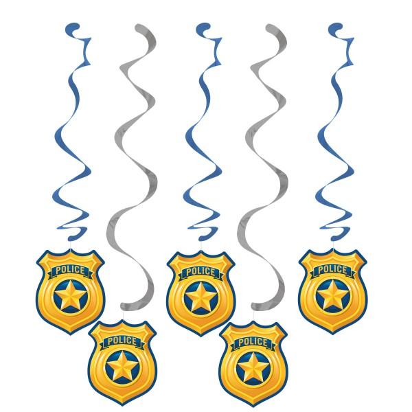 5 Polizei Revier Spiralhänger
