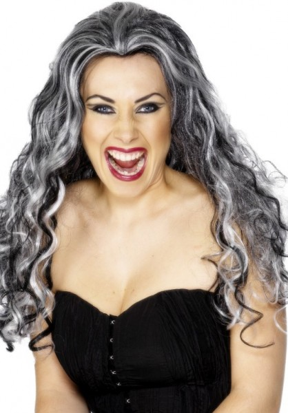 Crazy curly vampire wig