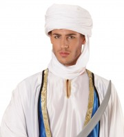 Witte Ghamsi Orient tulband