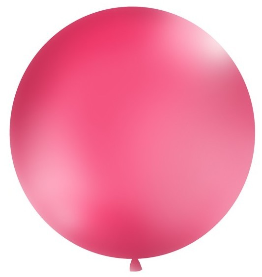 XXL balloon party giant pink 1m