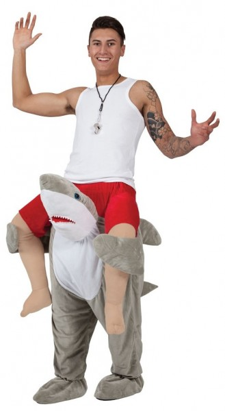 Costume de ferroutage de grand requin blanc