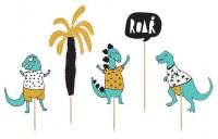 Dino Island Tortendeko Roar 5-teilig