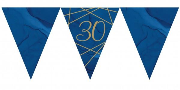 Luxueuse chaîne de fanion 30e anniversaire 3,7 m
