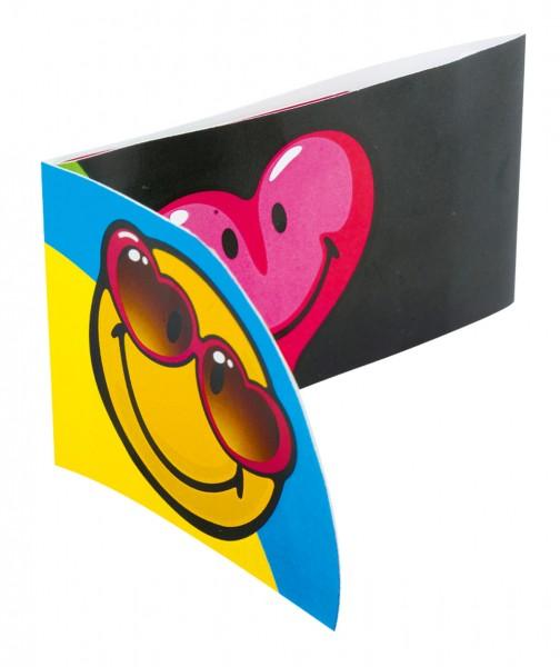 Lustige Smiley Einladungskarte Be Emotional 6 Stück