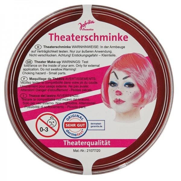 Profi Theaterschminke Dunkelrot