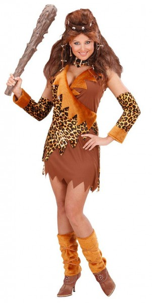 Stone Age Leopard Lady Costume Deluxe