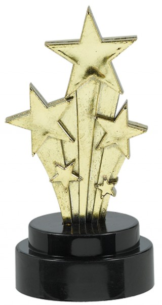Golden Hollywood Mini Trophy Rising Star Award 6 pieces
