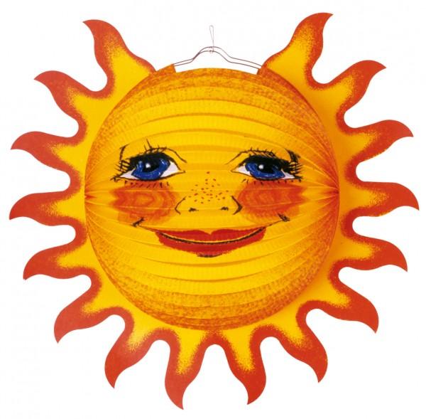 Radiant Sun Lanterne Ensoleillée 38cm