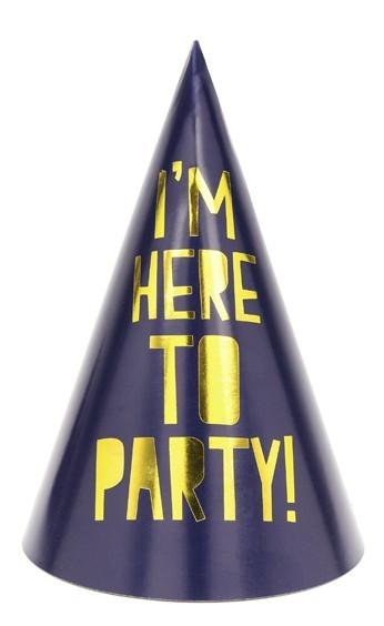6 Partynacht Get Toasty Hüte 15,5cm