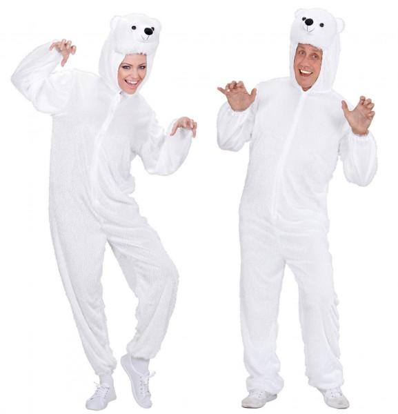 Kostium pluszowy niedźwiedź polarny