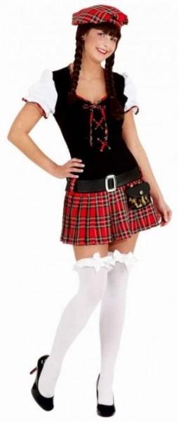 Schotse dame Edina kostuum