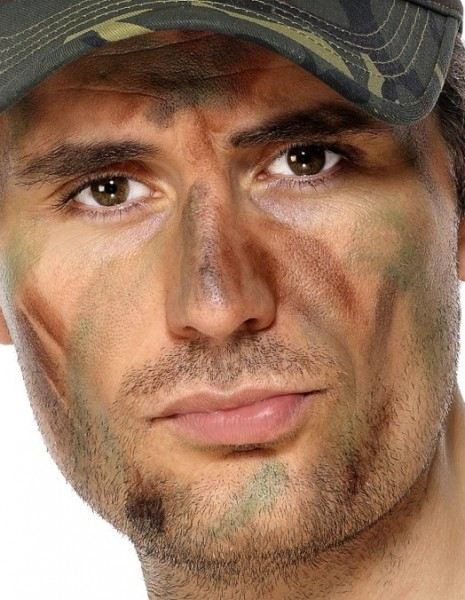 Army Militär Make-Up