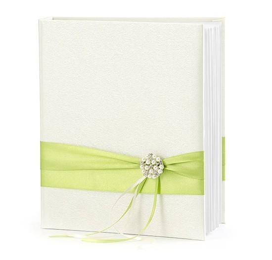 Gästebuch Lindgrün 20x23cm mit 45 Seiten 1