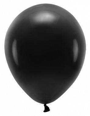 100 Eco Pastell Ballons schwarz 30cm