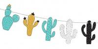 Dino Island Kaktus Girlande 1,3m