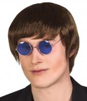 Blaue Hippie Brille John Lennon