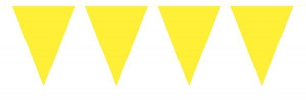 10m squeaky yellow pennant chain