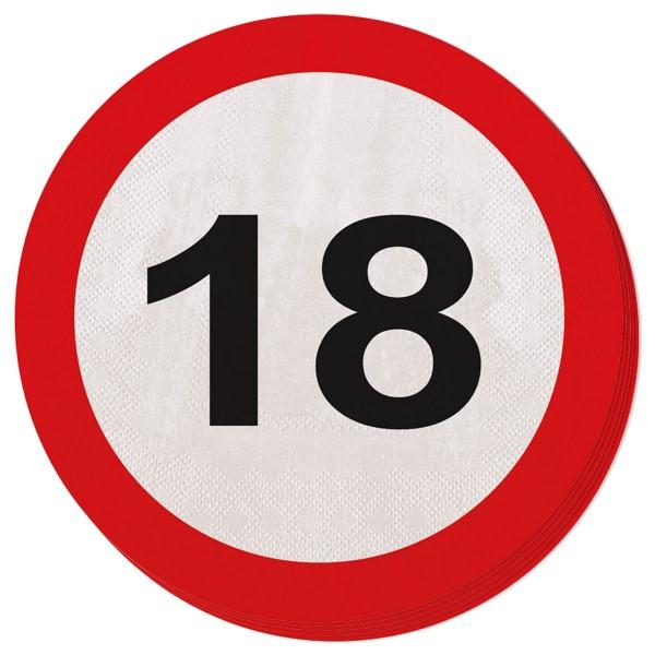 20 panneaux de signalisation 18 serviettes 15cm