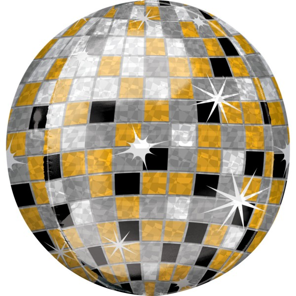 Disco Funk Folienballon 38 x 40cm