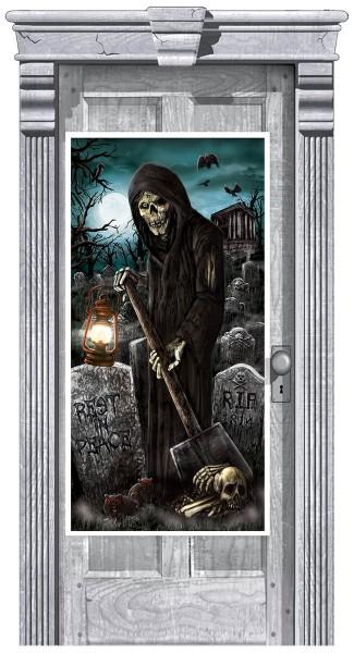 Totengräber Türposter 165 x 85cm