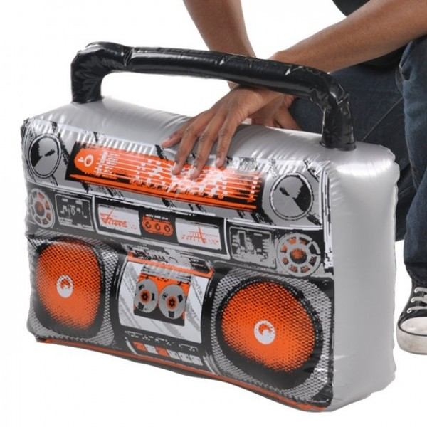 Boom box gonflable Street Music
