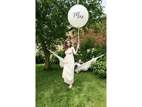 XXL giant balloon Mrs 100cm