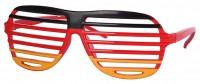 Deutschland Brille mit Gitter