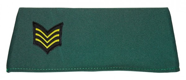 Grüne Militär Uniformmütze
