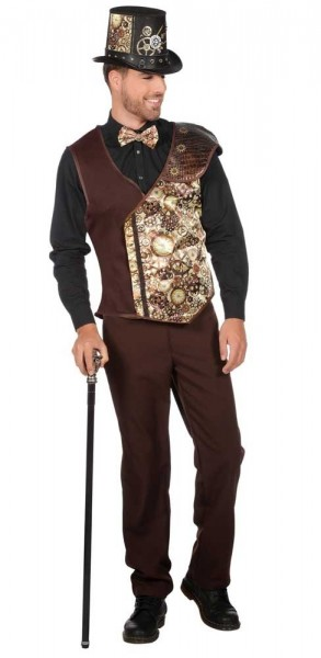 Noble chaleco steampunk Gregory