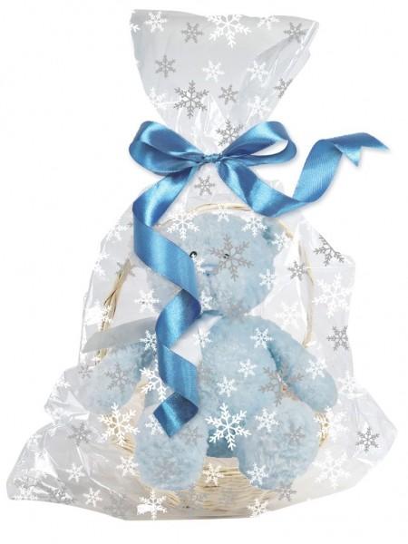 Schneeflocken Geschenktüte 61 x 63,5cm
