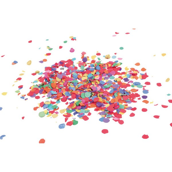 Confettis colorés amusants Rainbow Surprise 100g