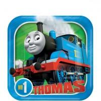8 Thomas die kleine Lokomotive Party Teller 18cm