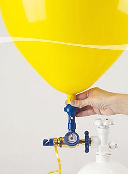 Heliumabfüllventil 60/40 Helium/Luft